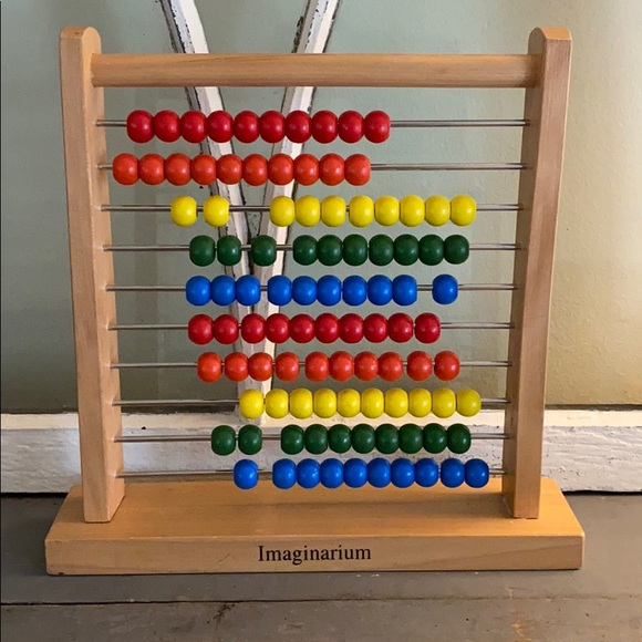 Abacus learning wooden toy